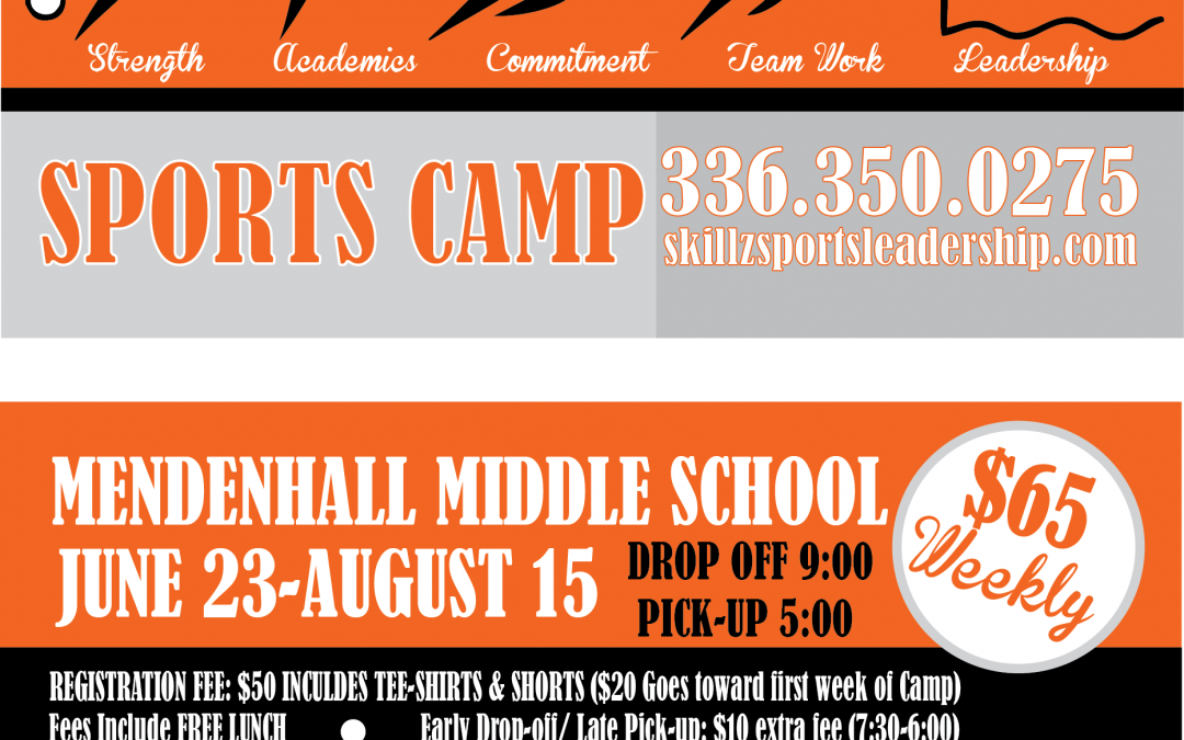 Summer Camp Postcard Flyer